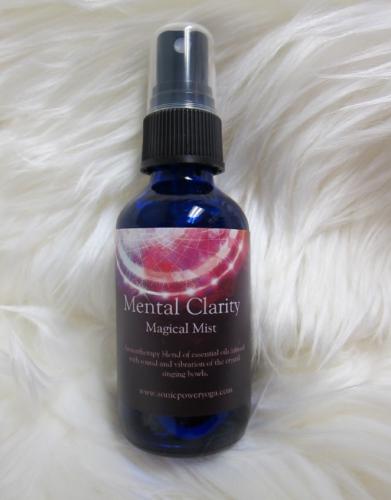Mental Clarity Aromatherapy Chakra Balancing Mist
