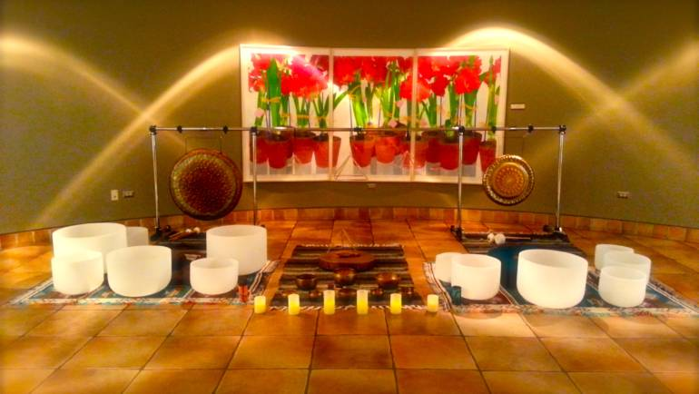 Multi-Sensory Sound Bath Experience