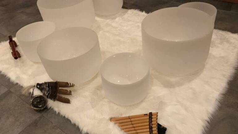 Crystal Singing Bowl Meditation