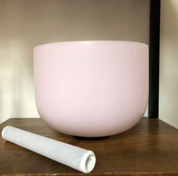 Rose Quartz Alchemy Singing Bowl