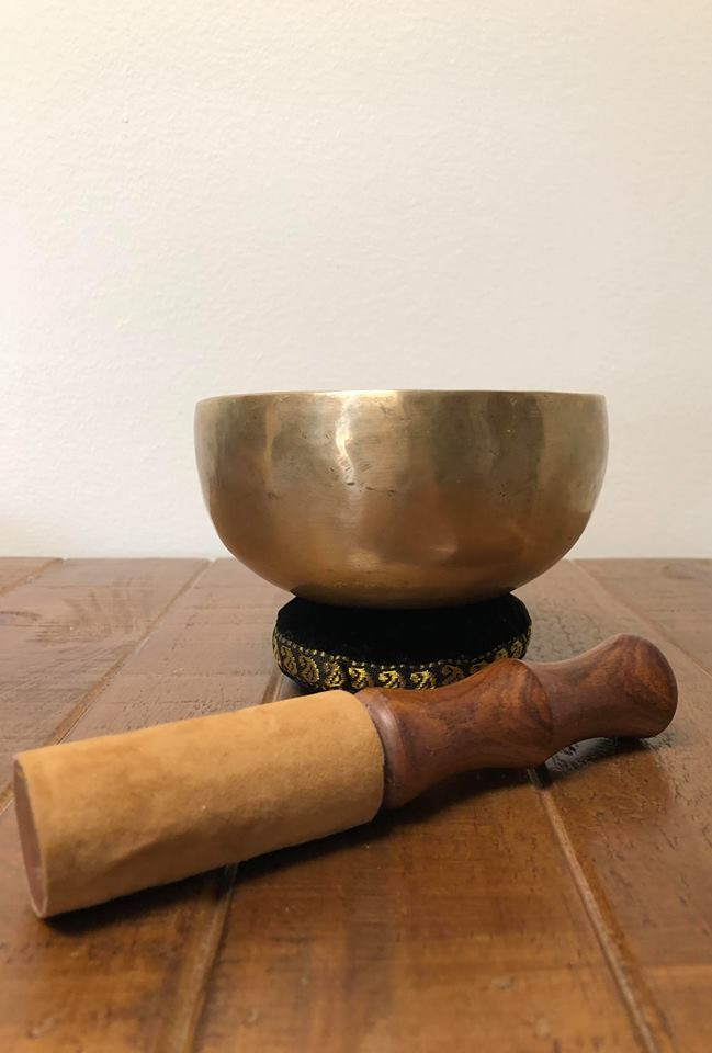 "6"" Hand Hammered Tibetan Singing Bowl"