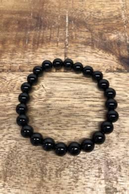 Black Obsidian Gem Bracelet
