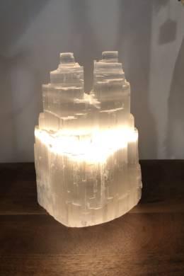 Selenite Lamp