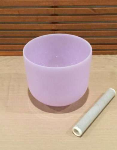 Amethyst Gem Fusion Crystal Singing Bowl
