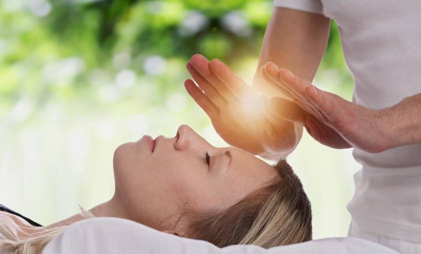 Reiki-Treatment
