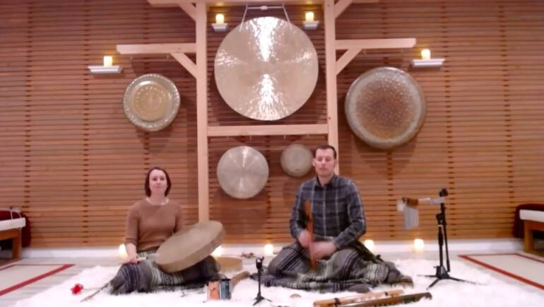 Drum and Flute Earth Day Meditation