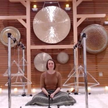 Crystal Singing Pyramid Meditation
