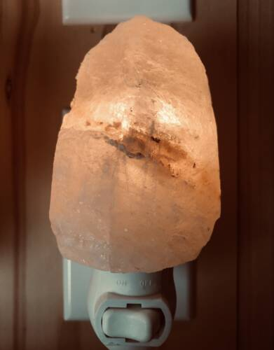 Natural Cut Salt Lamp Night Light
