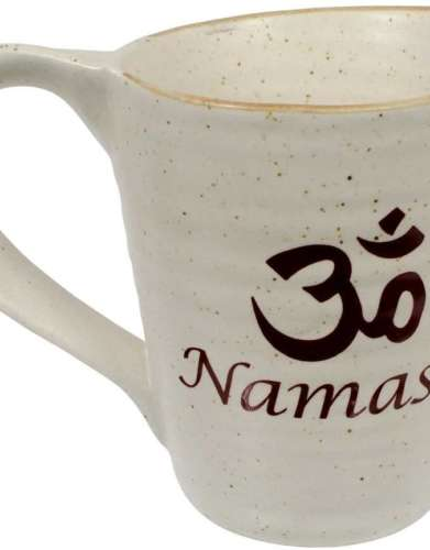 Om Namaste Ceramic Coffee Mug