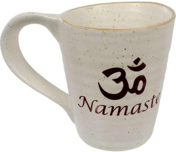 Om Namaste Ceramic Coffee Mug