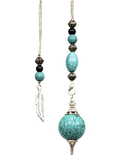 Turquoise Sephoroton Pendulum
