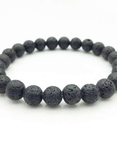 Lava Stone Aromatherapy Bracelet