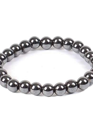 Hematite Gem Bracelet