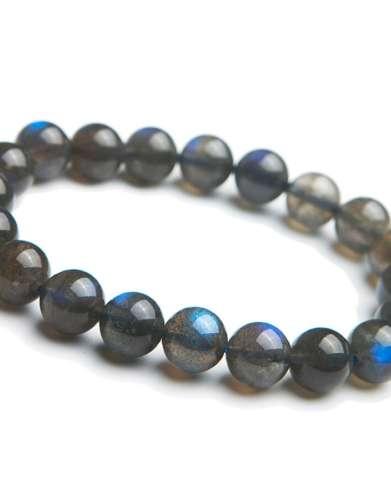 labradorite gem bracelet
