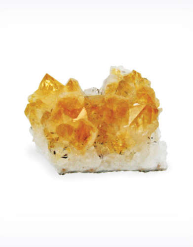 Small Citrine Crystal Cluster