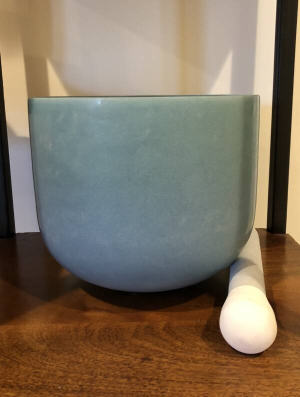 Turquoise Gem Alchemy Crystal Singing Bowl