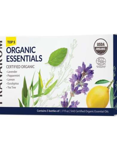 Pranarom Top 5 Organic Essentials