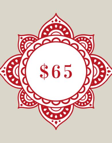 $65 Gift Voucher