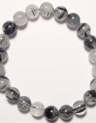Tourmalated Quartz Gem Bracelet