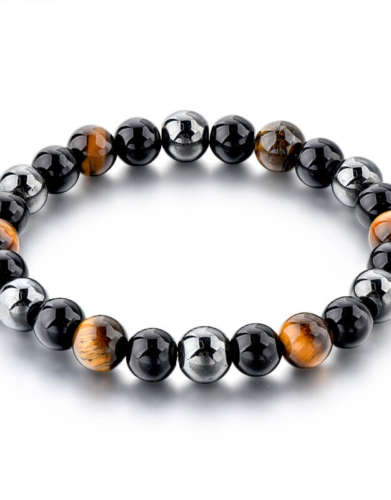 Triple Protection Gem Bracelet