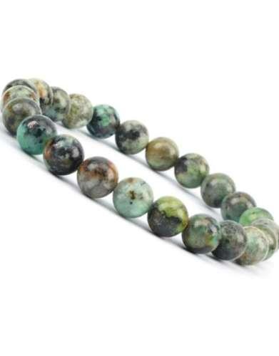 African Turquoise Gem Bracelet