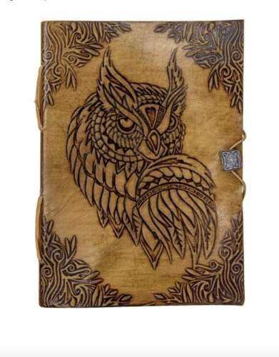 Owl Leather Journal