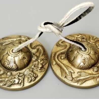 Dragon Tibetan Tingshas