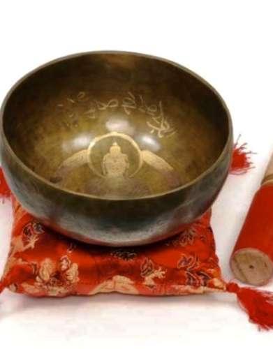 Buddah Tibetan Singing Bowl